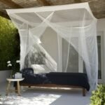 Bambulah Bed Mosquito Net Single Bed Mawar