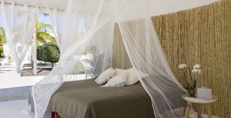 Bambulah Double Bed Canopy Purnama