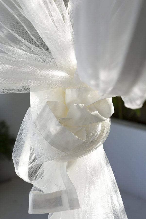Bambulah Vierkante Klamboe Zoom Detail Kasih