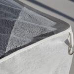 Bambulah Rectangular Mosquito Net Corner Detail Kasih