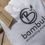 Bambulah Rectangular Mosquito Net Cotton Bag Mawar