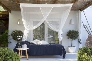 Bambulah Rectangular Mosquito Net Side Kasih