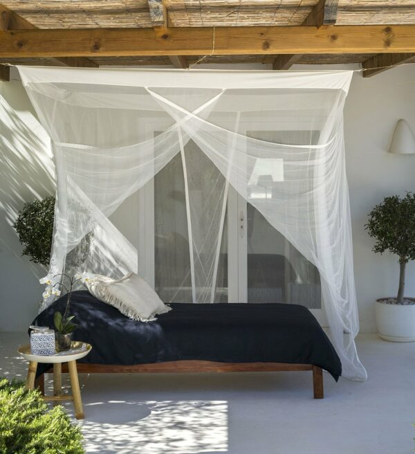 Bambulah Rectangular Mosquito Net Side Mawar
