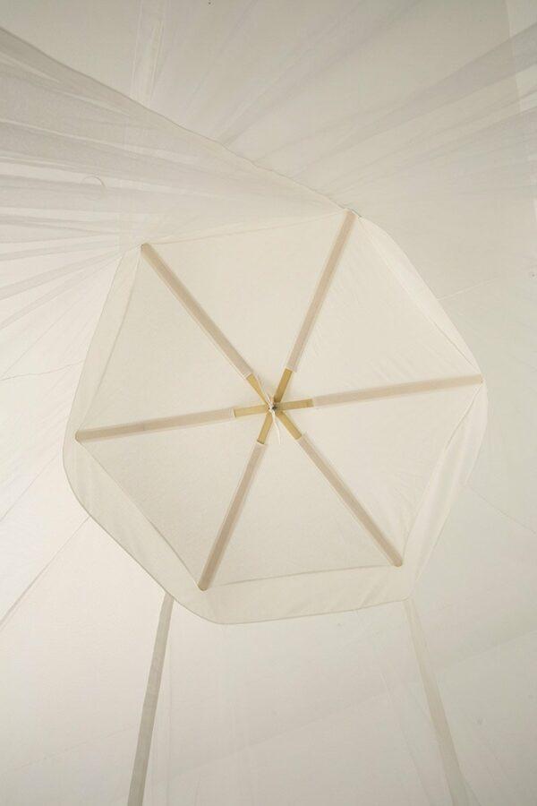 Bambulah Round Mosquito Net Bamboo Frame Bulan