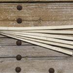 Bambulah Round Mosquito Net Bamboo Slats Devi