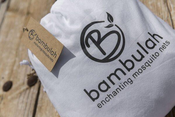 Bambulah Round Mosquito Net Cotton Bag Bulan