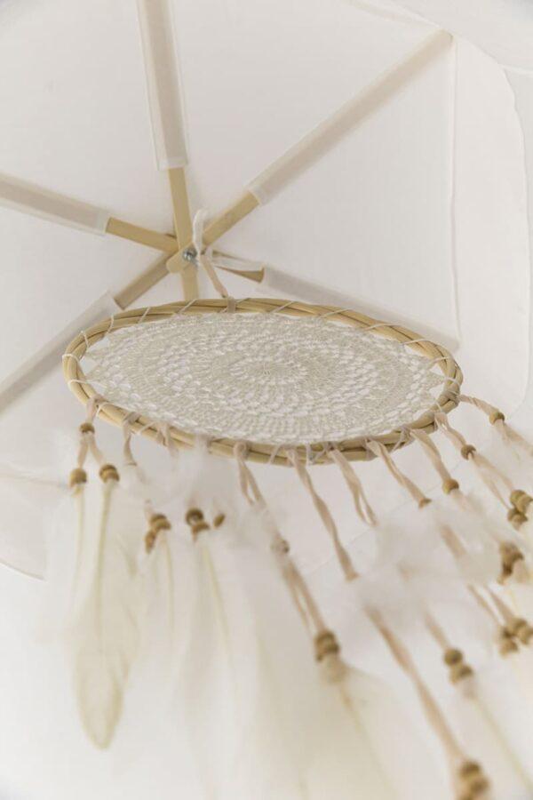 Bambulah Round Mosquito Net Dreamcatcher Devi