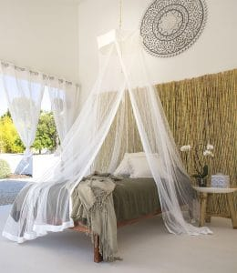 Bambulah Round Mosquito Net Front Devi