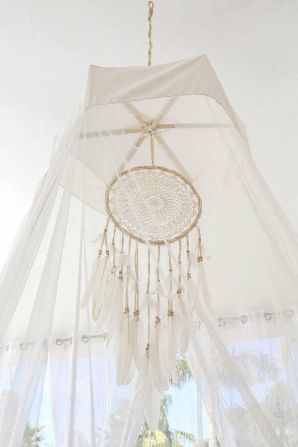 Bambulah Round Mosquito Net Top Devi
