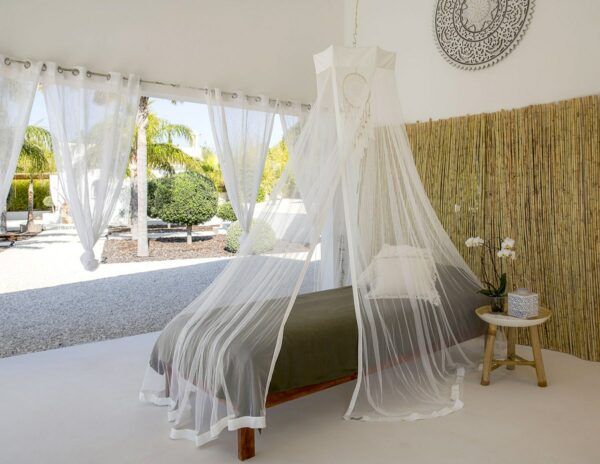 Bambulah Single Bed Canopy Devi