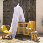 Mosquito net for baby cot - Raja White