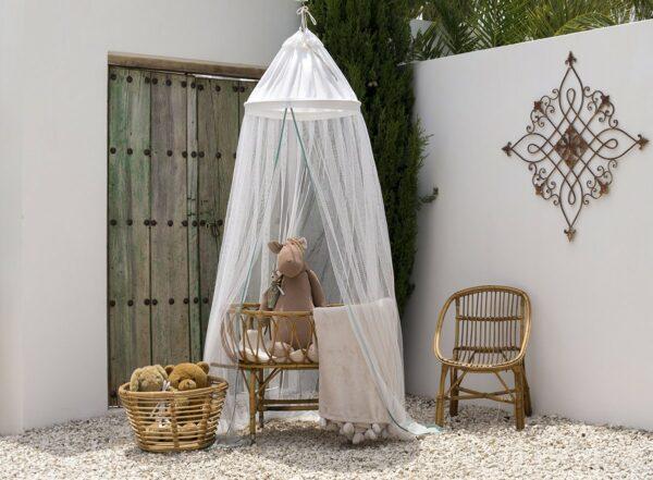 Bambulah Mosquito Net Raja Pink