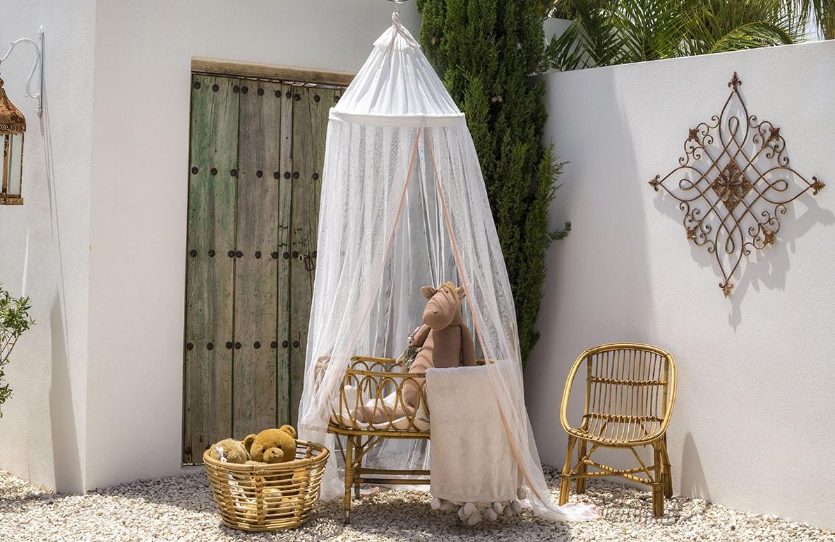 Bambulah Mosquito Net Wayan Pink