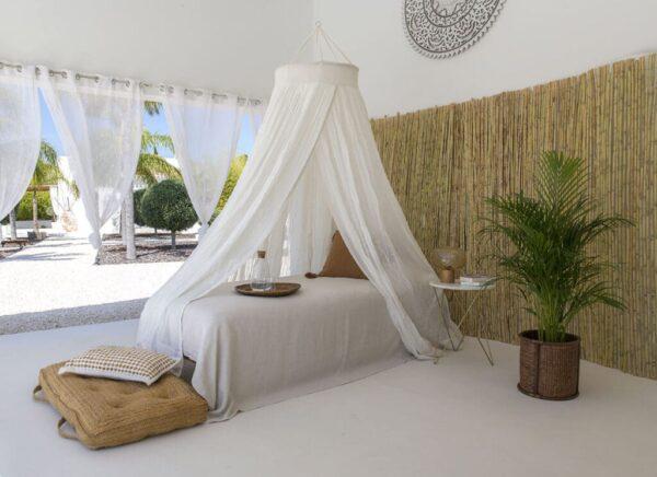 Bambulah klamboe voor 1 persoonsbed