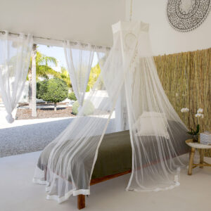 Bambulah Single Bed Canopy Devi