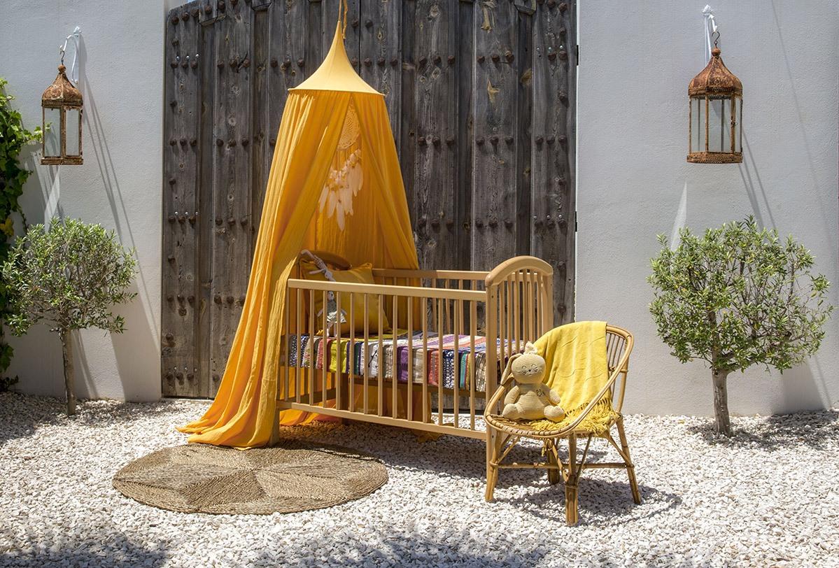 Bambulah Mosquito Net Raja Yellow