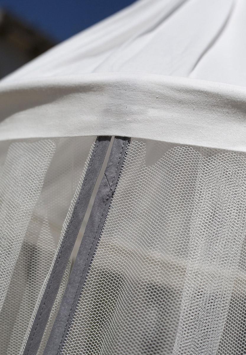 Bambulah Mosquito Net Wayan Grey