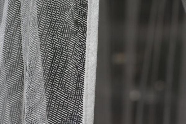 Bambulah Mosquito Net Wayan White