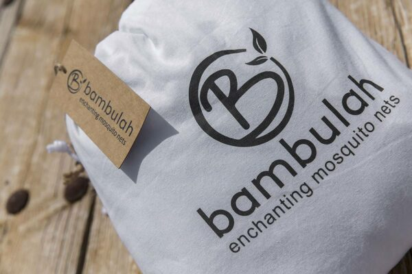 Bambulah Round Mosquito Net Cotton Bag Panji