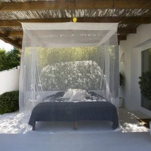 Moustiquaires pour lits rectangulaires